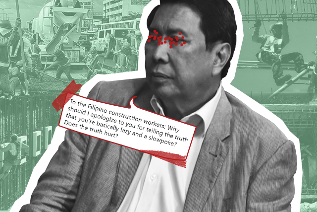 Ramon Tulfo vs labor groups