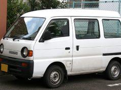 Suzuki white van