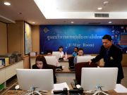 Thailand social media monitoring elections war room