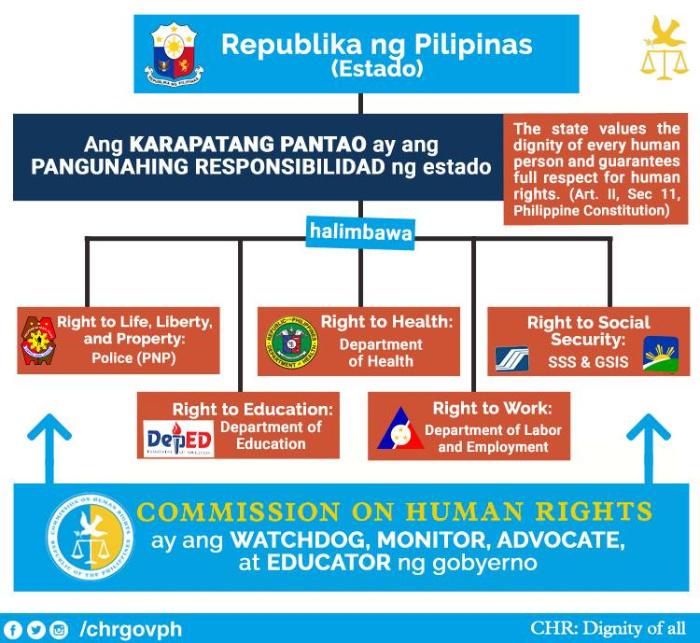 CHR mandate