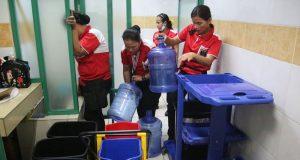 water shortage hospital Rizal Medica Center