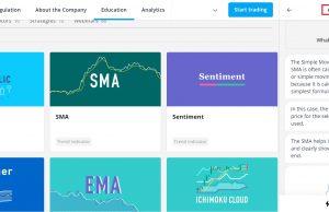 Olympus Trading platform