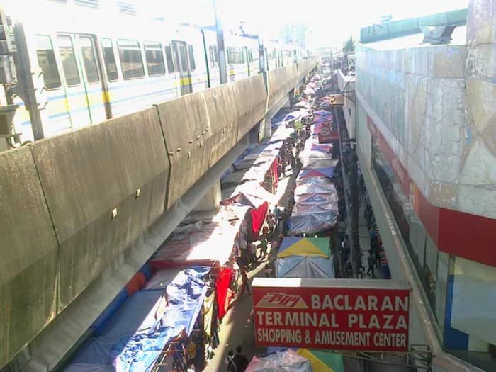 Baclaran street vendors