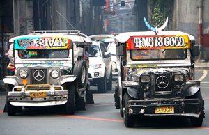 Jeepneys in Metro Manila