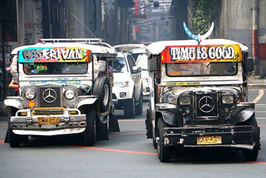 Jeepneys in Metro Manila