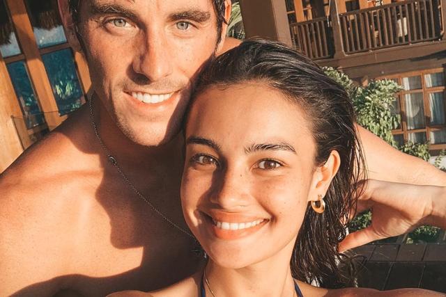 Kelsey Merritt with boyfriend