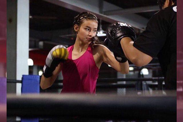 Liza Soberano training for Darna