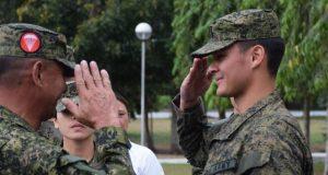 Matteo Guidicelli in the Army