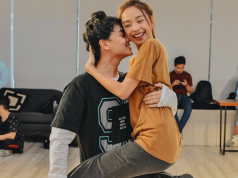 MayWard in dance practice