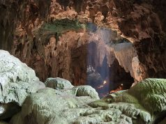Callao Cave on Luzon Island, in the Philippine, where the fossils of newly identified hominin species Homo luzonensis were discovered