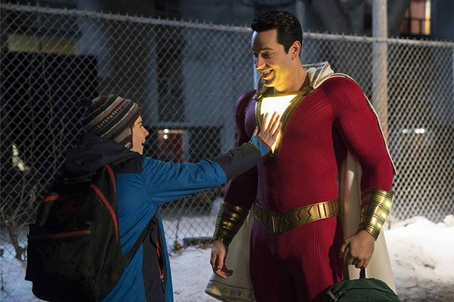 Screenshot of Shazam trailer