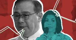Teddy Boy Locsin and Regine Velasquez