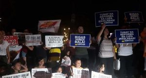 Kabataan Party-list candle lighting
