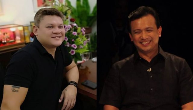 Paolo Duterte and Sonny Trillanes