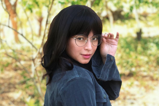Angel Locsin with glasses