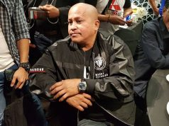 Bato Dela Rosa in a jacket