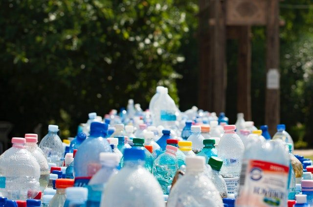 Collection of plastic bottles