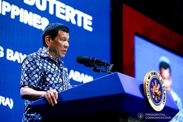 Duterte in PDP-Laban's miting de avance