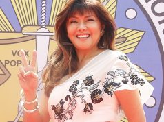 Imee Marcos in the proclamation