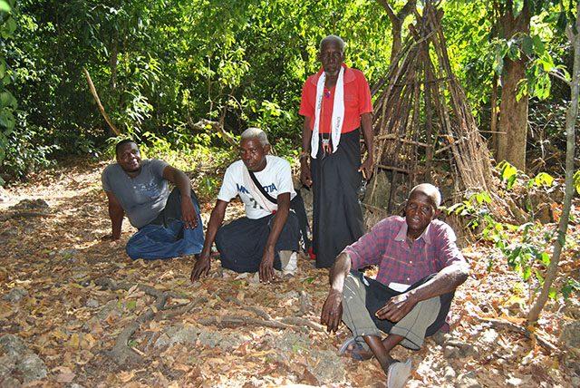 Kenya tribesmen