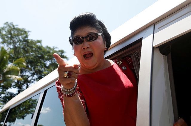 Imelda Marcos' jewels to go on sale after green light from Philippine president - Interaksyon