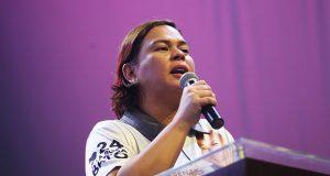 Sara Duterte in campaign caravan