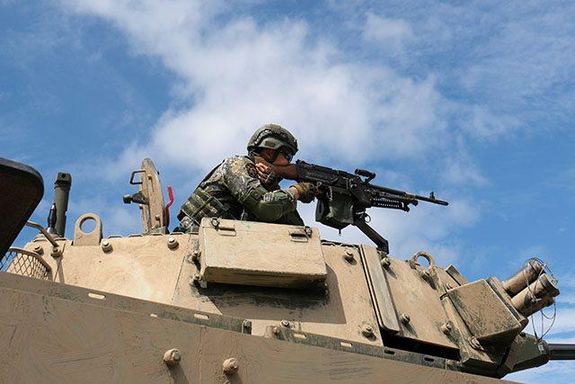 Military drill in Taiwan