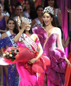 Catriona to the rescue as crown of Binibining Pilipinas