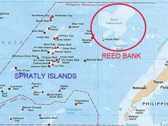 Reed Bank map