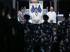 Duterte with Delfin Lorenzana