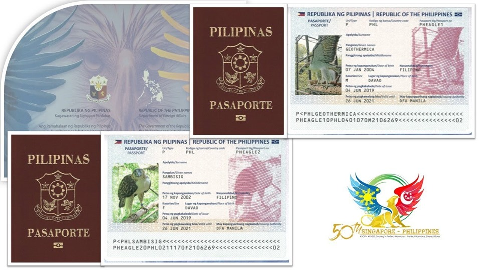 Philippine Eagle passports