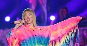 FILE PHOTO: Taylor Swift performs at the iHeartRadio Wango Tango concert in Carson