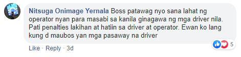 Bong Nebrija traffic jam comment 2