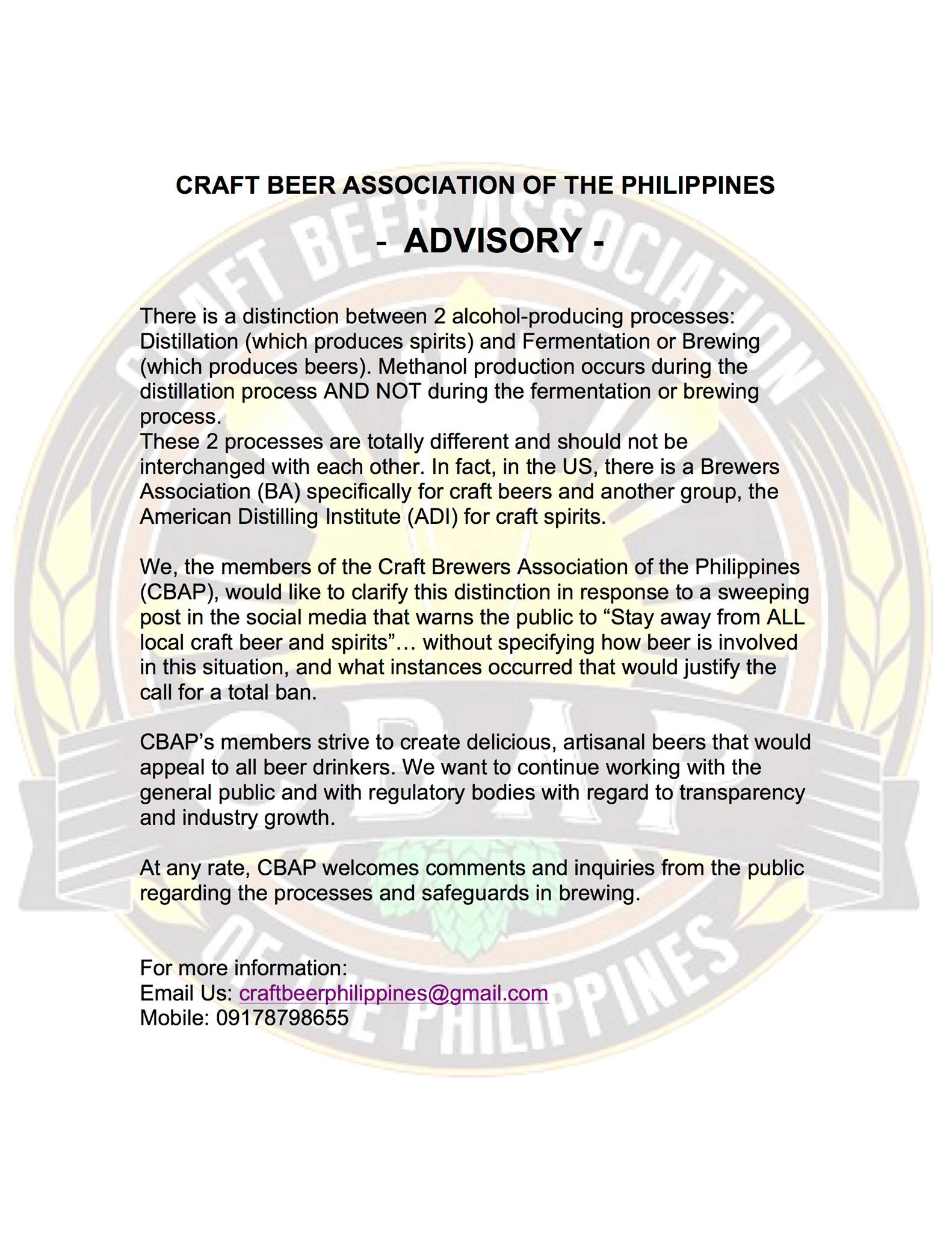 Craft Beer Association of the Philippines