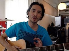 Rico Blanco with guitar