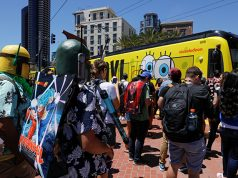 People attend Comic Con International in San Diego