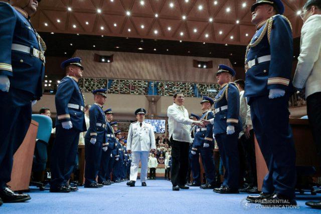Duterte's 2019 SONA entrance