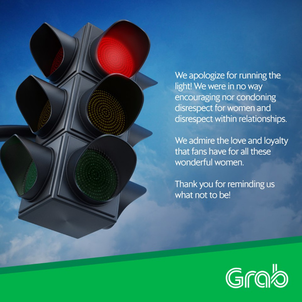 Grab Philippines' apology