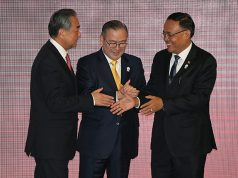 ASEAN foreign ministers meet Chinese delegation led by FM Wang Yi in Bangkok