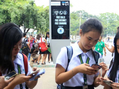 Wi-Fi kiosk in Manila
