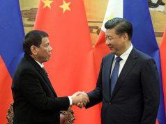 Duterte and Xi Jinping