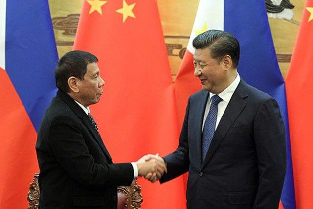 Duterte and Xi Jinping
