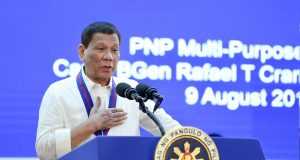 Duterte at 118th Police Service Anniversary