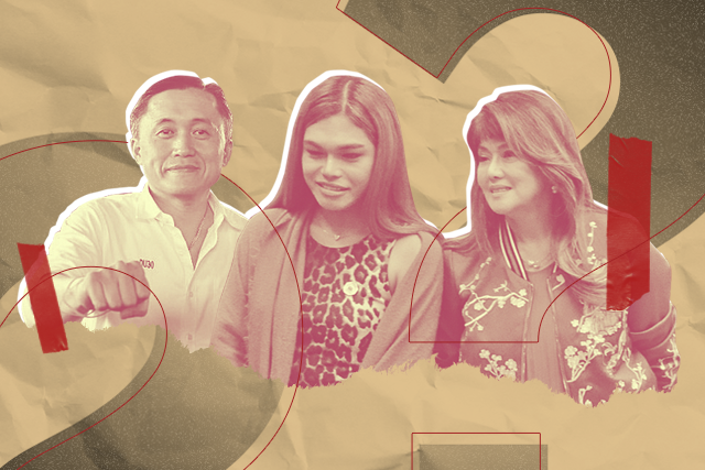 Gretchen Diez explains pictures with Bong Go and Imee Marcos after criticisms - Interaksyon