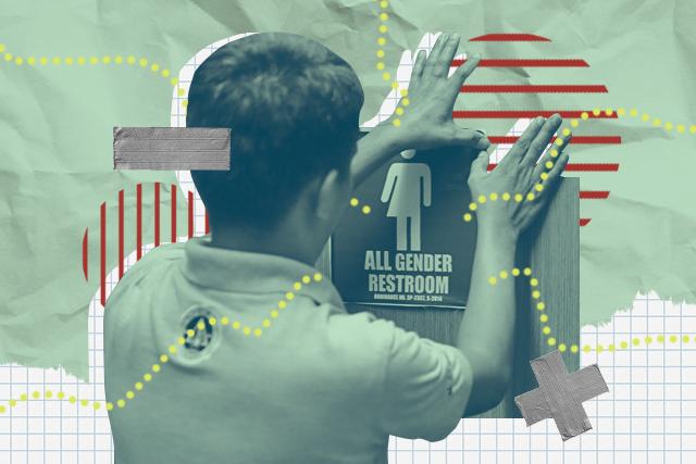All-gender restroom in Quezon City