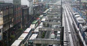 bus ban test run along EDSA