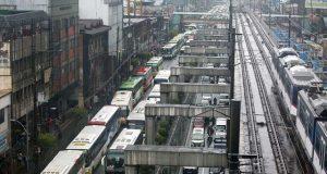 bus ban test run along EDSA