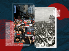 1986 EDSA People Power Revolution and Hong Kong revolt