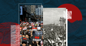 1986 EDSA People Power Revolution and Hong Kong revolt