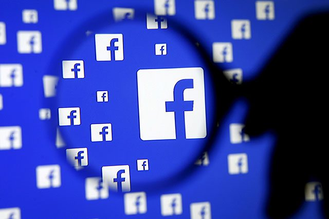 Facebook magnified